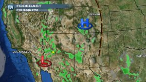 Severe Weather Possible in the Desert Southwest Friday and Saturday
