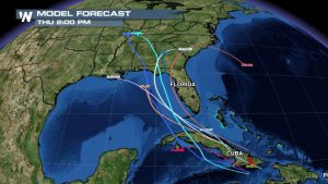 Erika Dissipates but May Re-Form in Gulf