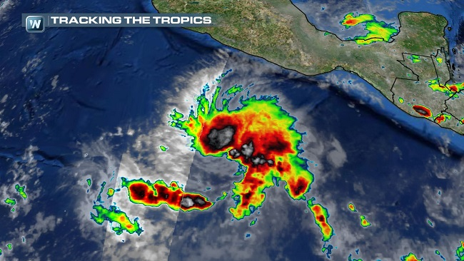 Tropical Storm Vance Forms in the Eastern Pacific, To Impact Mexico