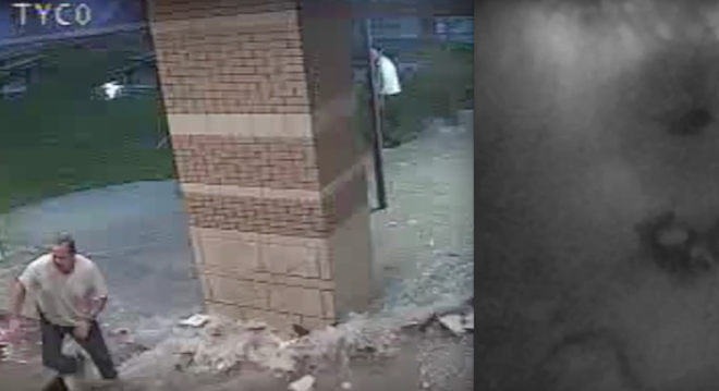 Caught on Camera: Heavy Rains Collapse Mississippi School Roof