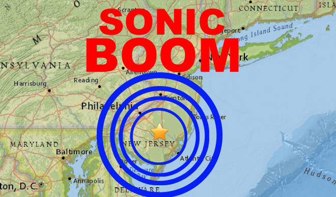 Mysterious Sonic Boom: Earth Shaking Tremors Felt from New ...