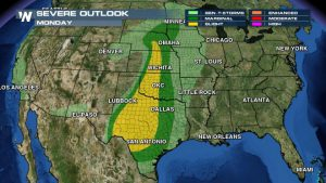 Multi-Day Severe Weather, Flood Threat for South