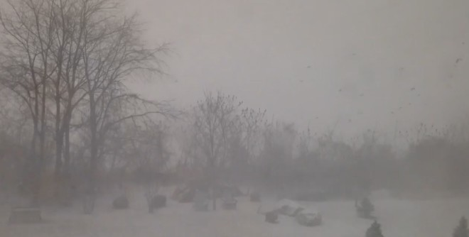 Snow Squalls Race Through the East Wreaking Havoc