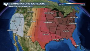 What December? October-Like Warmth to Bask Most of Country