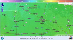 Warming Trend For Now, Midweek Storm For Central Third of Country