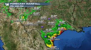 Tropical Low in Gulf of Mexico Could Dump Big Rain on Coastal Texas