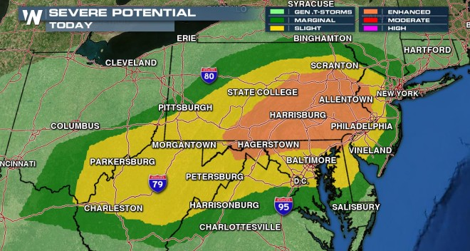 60 Million People at Risk: Severe Thunderstorms