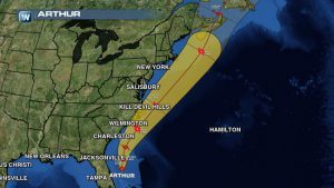 Tropical Storm Andrea Flies Up the East Coast Generating Flash Flooding, High Winds