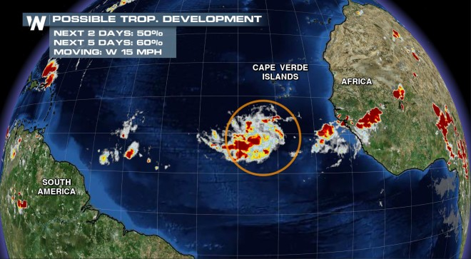Next Tropical Storm Brewing in the Atlantic?