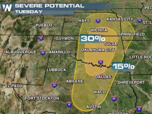 Severe Weather Threat Looms for Many This Week