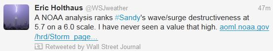 Hurricane Sandy: 1 in 100 Year Storm For New York City?
