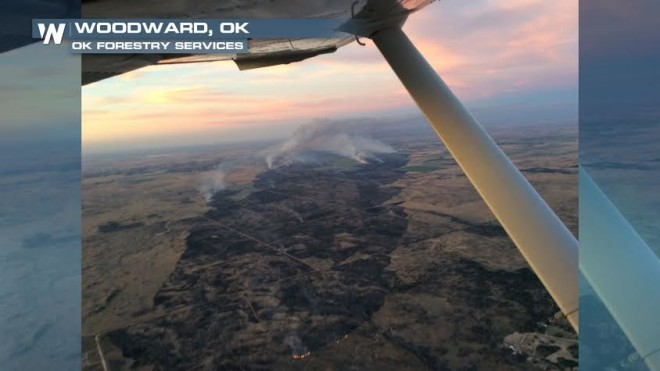 Brush Fires Spark Across Midwest From Hot, Dry Weather