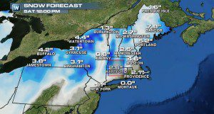 More Snow On Tap for the Northeast?