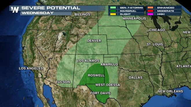 wed storm potential