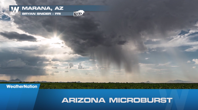 WATCH: Microbursts, Hail, Lightning & More – A Wild Weekend in Weather